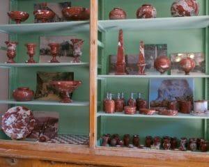 Boutique La marbrerie, vente d'objets en marbre