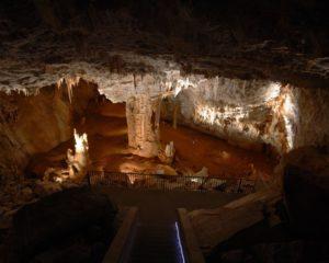 grotte de Cabrespine dans l'Aude