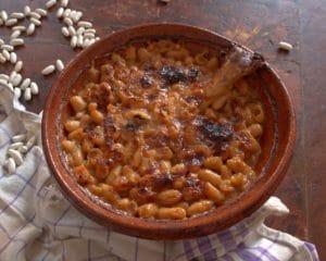 spécialité du restaurant La Table de Terroir le cassoulet du Minervois