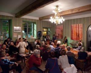 Les musiciens au restaurant La table de Terroir, repas groupe