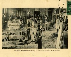 Ancien atelier de polissage La Marbrerie à Caunes Minervois